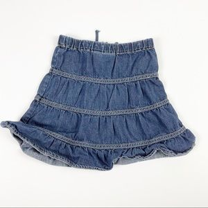 5/$25 Children's Place Denim Skirt